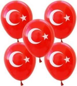 Türk Bayrağı Balon
